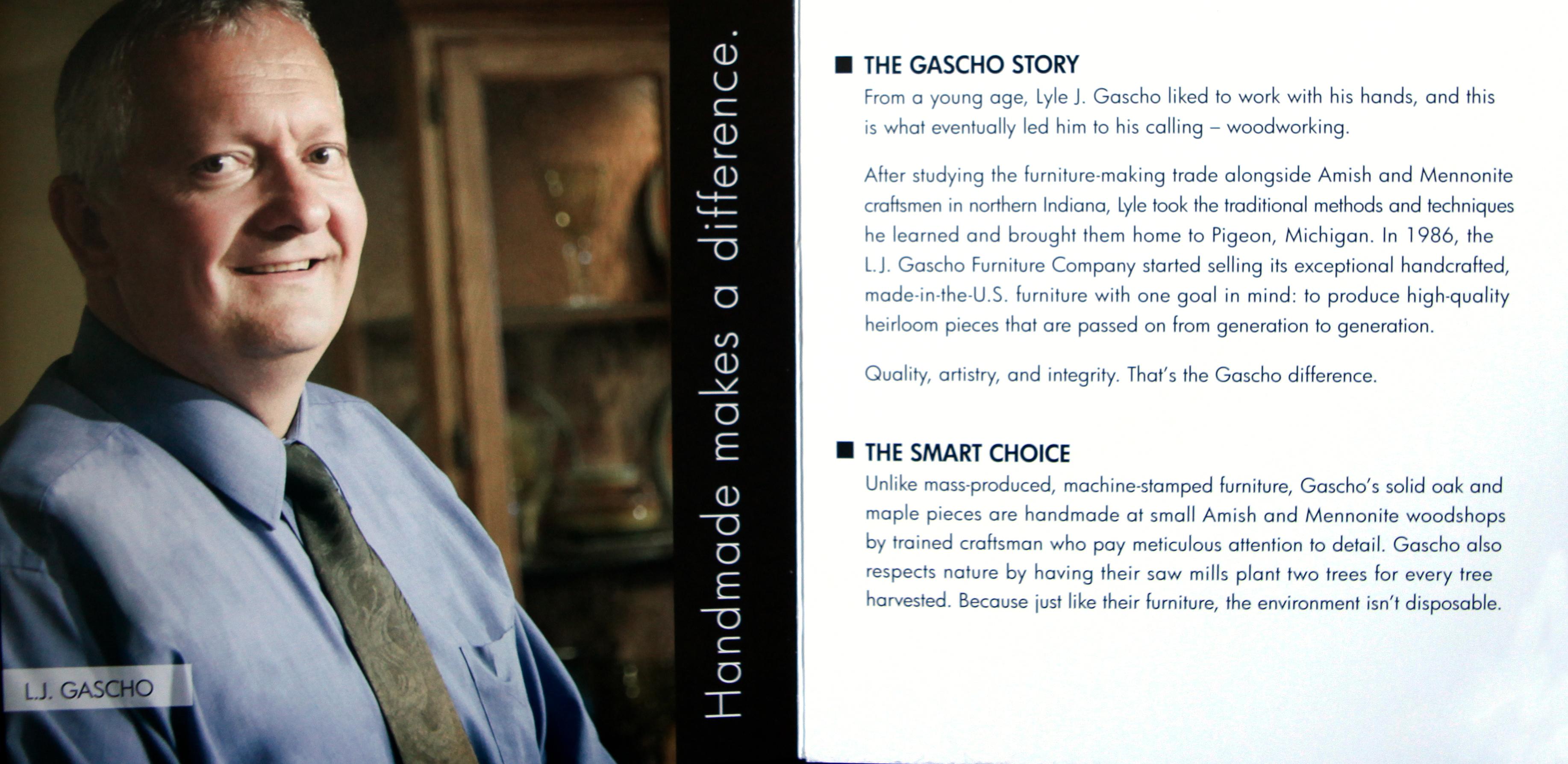 Lyle Gascho bio